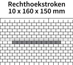 Rechthoekstroken-10x160x150mm
