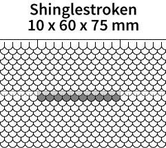 Shinglestroken-10x60x75mm