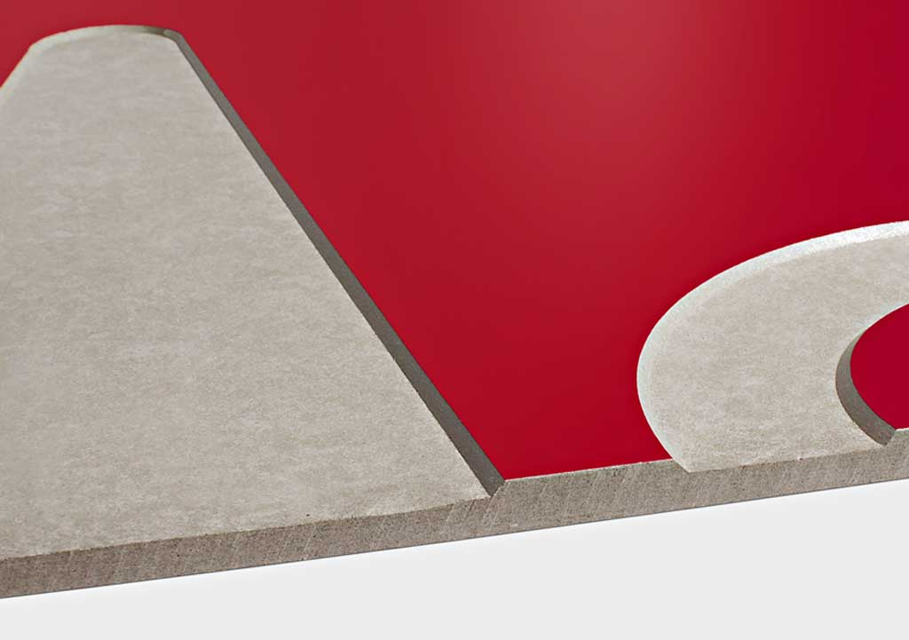 SwissPearl® Curved Corners