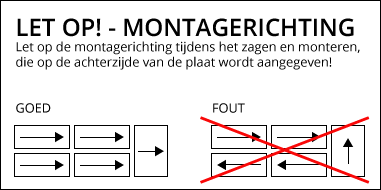 Montagerichting